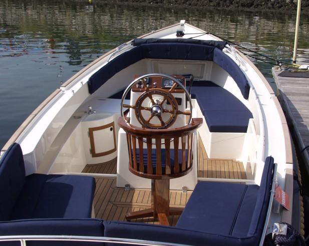 Ausstattung eines Bootes