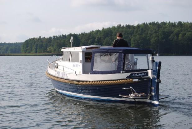 Beispielhaftes Hausboot - außen