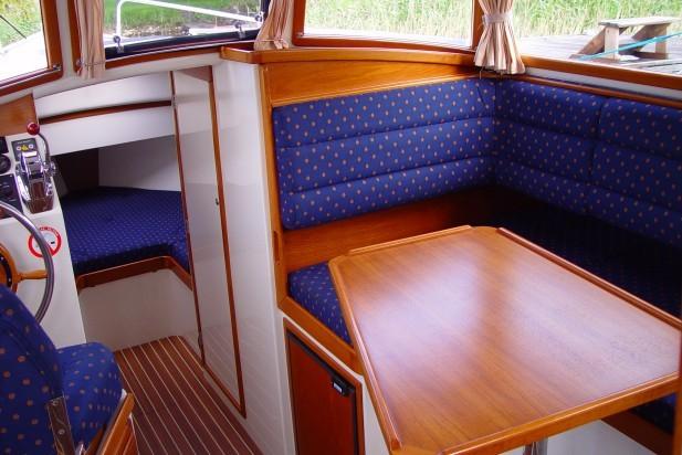Ausstattung von einem Hausboot